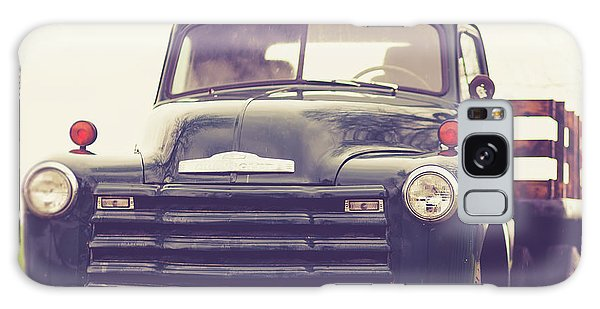 Classic Galaxy Case - Old Chevy Farm Truck In Vermont Square by Edward Fielding