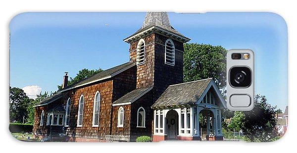 Old Grace Church Massapequa  Galaxy Case