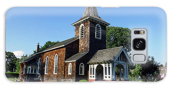 Old Grace Church Massapequa  Galaxy Case