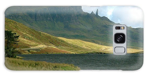 Old Man Of Storr Galaxy Case by Louise Fahy