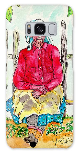 Old Migrant Worker, Resting, Arcadia, Florida 1975 Galaxy Case