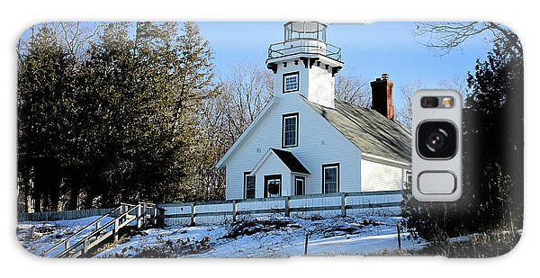 Old Mission Lighthouse Galaxy Case