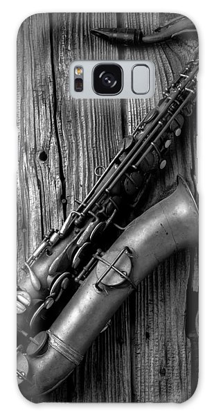 Saxophone Galaxy Case - Old Sax by Garry Gay