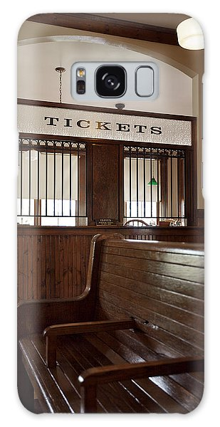 Old Time Train Station Galaxy Case