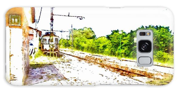 Pylon Galaxy Case - Old Train On The Dead Platform by Giuseppe Cocco