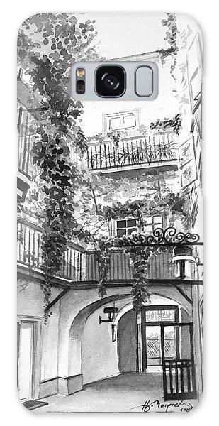 Galaxy Case - Old Viennese Courtyard by Johannes Margreiter
