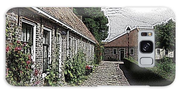 Cottage Galaxy Case - Old Village by Steve K