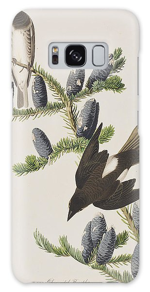 Flycatcher Galaxy Case - Olive Sided Flycatcher by John James Audubon
