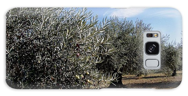 Olive Trees Galaxy Case by Judy Kirouac