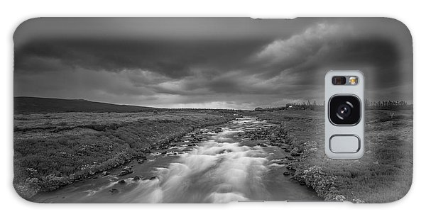 Ominous Galaxy Case - Ominous Day In South Iceland  by Michael Ver Sprill