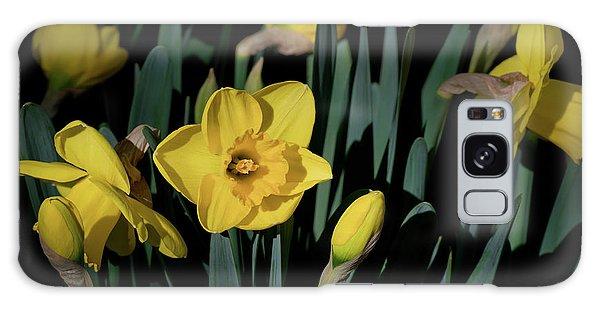 Camelot Daffodils Galaxy Case