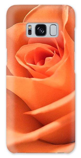 Orange Rose Galaxy Case