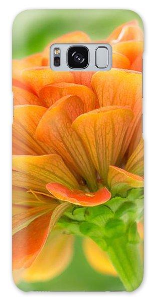 Orange Zinnia  Galaxy Case