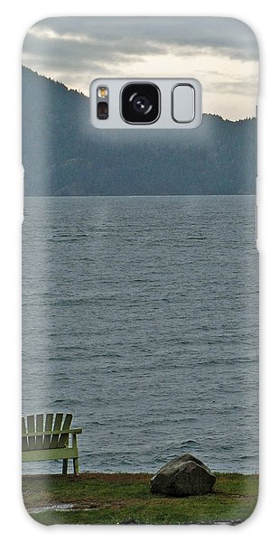 Orcas Island View Galaxy Case