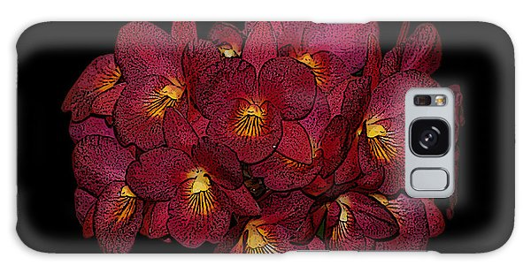 Orchid Floral Arrangement Galaxy Case by Gary Crockett