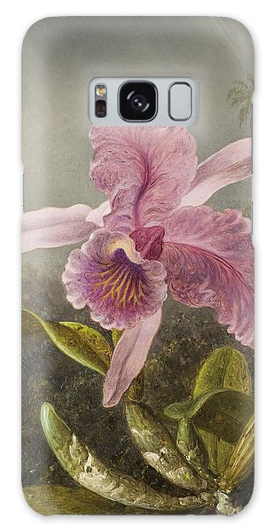 Orchidaceae Galaxy Case - Orchid  by Martin Johnson Heade