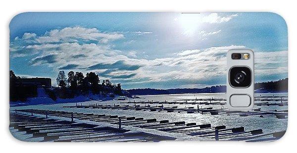 Oslo Fjords In Norway.  Galaxy Case