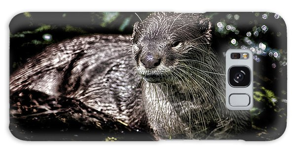 Otter Galaxy Case - Otter by Martin Newman
