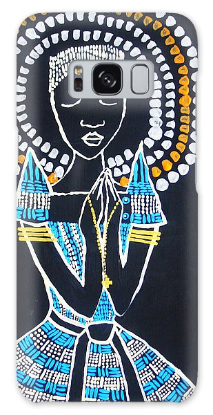 Mama Africa Galaxy Case - Our Lady Of Africa by Gloria Ssali