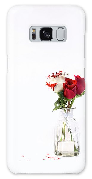 Paint The Roses Red Galaxy Case