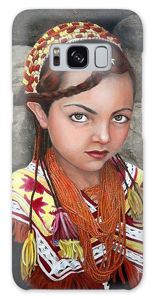 Pakistani Girl Galaxy Case by Enzie Shahmiri
