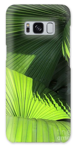Palm Patterns Galaxy Case