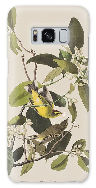Palm Warbler Galaxy Case by John James Audubon