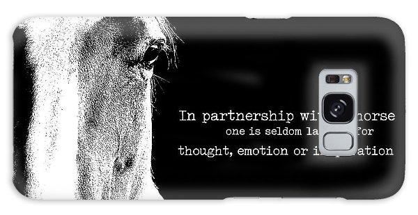 Palomino Partnership Quote Galaxy Case