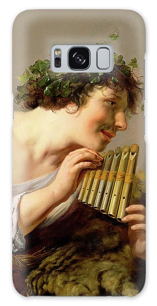 Aspect Galaxy Case - Pan Playing His Pipes by Paulus Moreelse