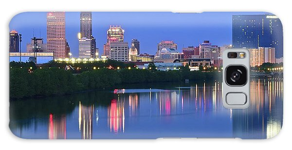 Panoramic Indianapolis Galaxy Case by Frozen in Time Fine Art Photography
