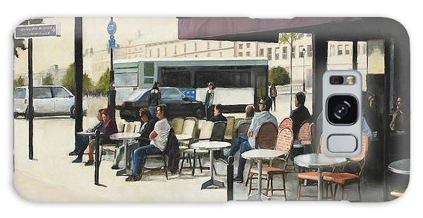 Paris Cafe Galaxy Case