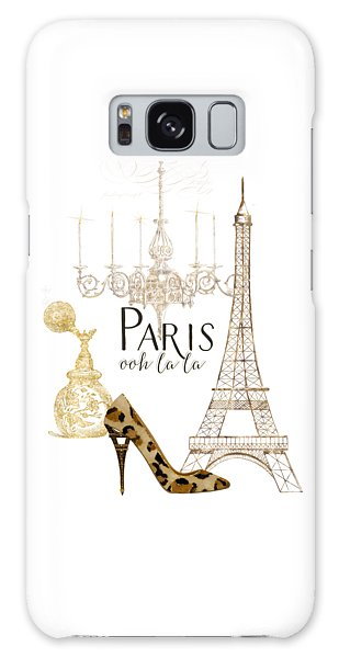 Paris - Ooh La La Fashion Eiffel Tower Chandelier Perfume Bottle Galaxy Case
