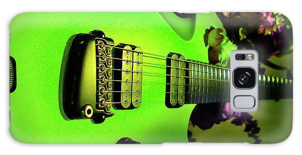Galaxy Case featuring the digital art Parker Fly Guitar Hover Series by Guitar Wacky