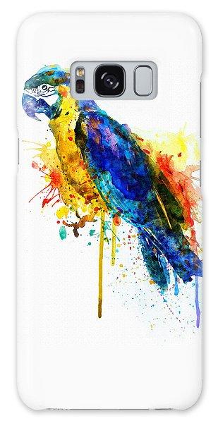 Parrot Watercolor  Galaxy Case