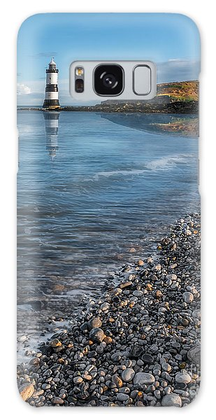 Puffin Galaxy S8 Case - Penmon Point Lighthouse by Adrian Evans