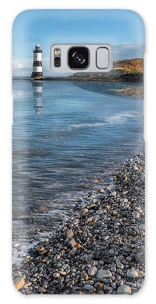 Penmon Point Lighthouse Galaxy Case