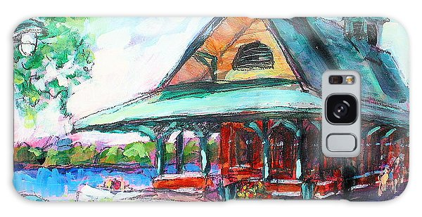 Pewaukee Depot Galaxy Case by Les Leffingwell