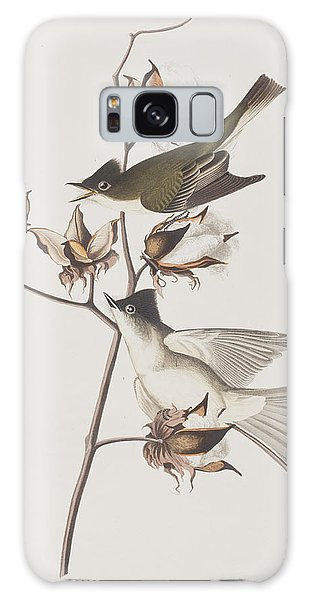 Flycatcher Galaxy Case - Pewit Flycatcher by John James Audubon