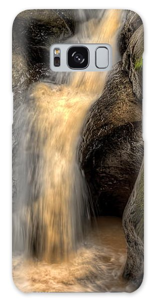 Pewits Nest Middle Waterfall Galaxy Case