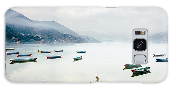 Phewa Lake In Pokhara, Nepal Galaxy Case