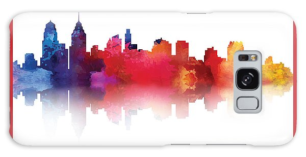 philadelphia PA Skyline II Galaxy Case
