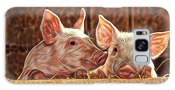 Pig Collection Galaxy Case