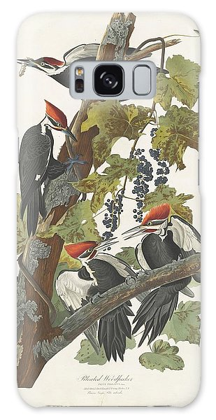 Pileated Woodpecker Galaxy Case by Dreyer Wildlife Print Collections