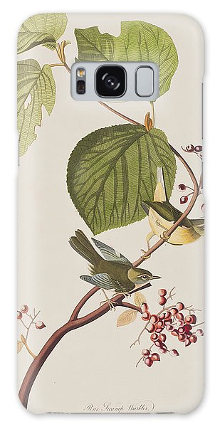 Pine Swamp Warbler Galaxy Case by John James Audubon