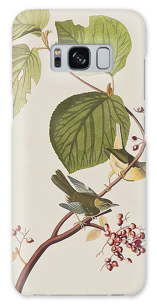Pine Branch Galaxy Case - Pine Swamp Warbler by John James Audubon