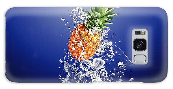 Pineapple Splash Galaxy Case by Marvin Blaine