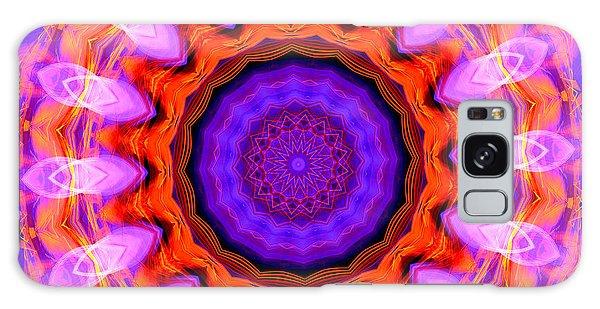 Pink 16-petals Kaleidoscope Galaxy Case