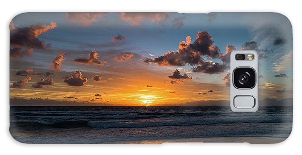 Pink Cloud Sunrise Delray Beach Florida Galaxy Case