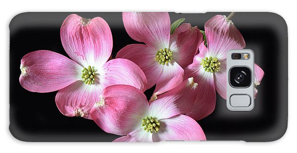 Pink Dogwood Branch Galaxy Case