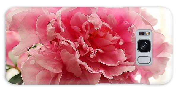 Pink Peony 2 Galaxy Case by Katy Mei
